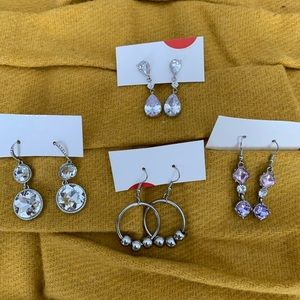 New four pairs Northern Reflections earrings